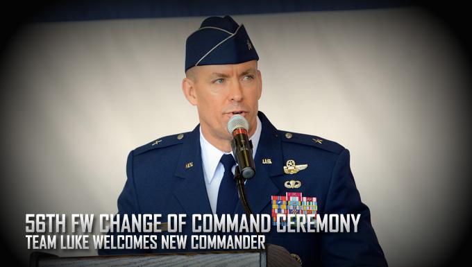Team Luke welcomes new commander