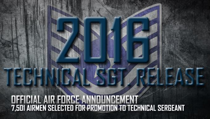 2016 Tech. Sgt. Release