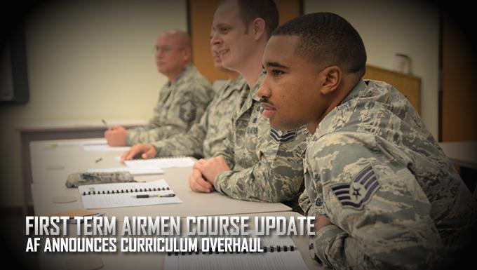 First Term Airmen Course update