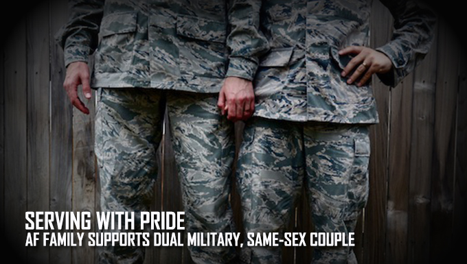 Serving with pride