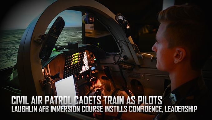 Civil Air Patrol cadets train as pilots