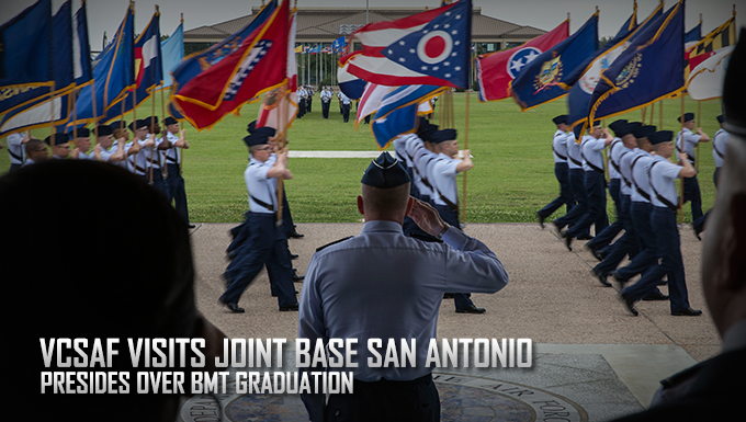 VCSAF visits Joint Base San Antonio