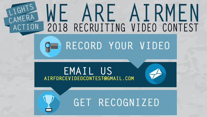 We Are Airmen 2018 Recruiting Video Contest