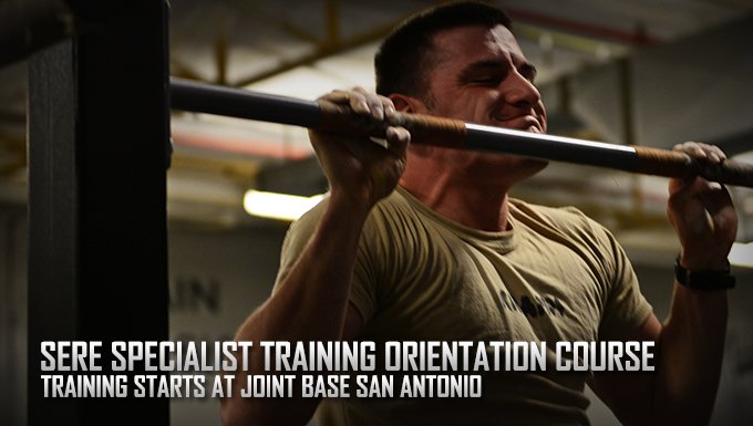 Survival, Evasion, Resistance and Escape training starts at Joint Base San Antonio