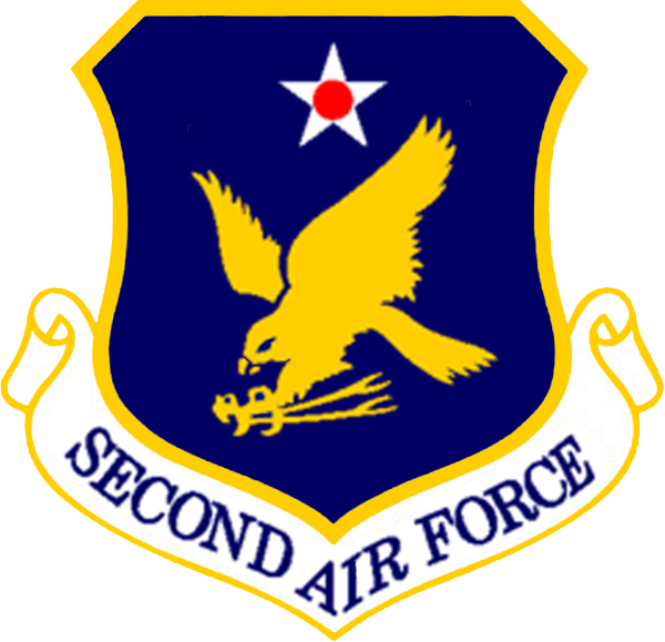 2nd Air Force shield.