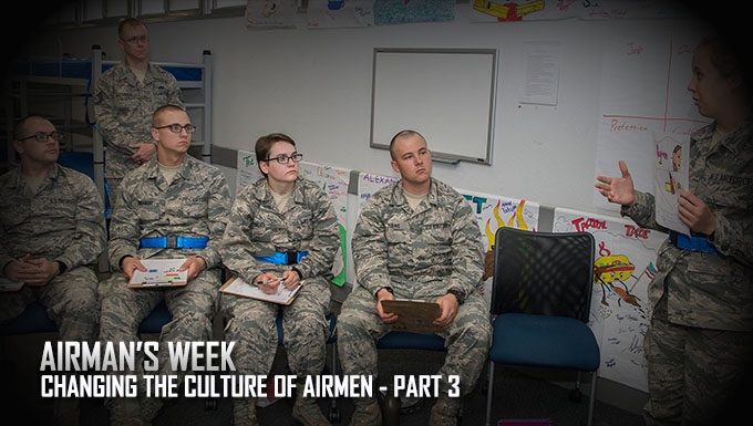 Airmen's Week: Changing the Culture of Airmen