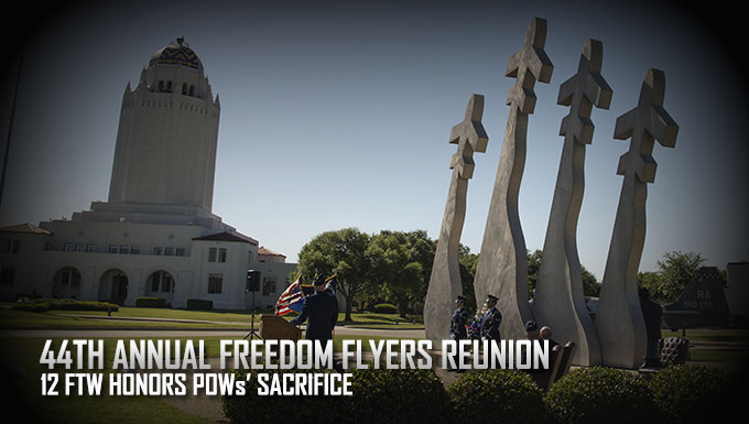 44th Annual Freedom Flyer Reunion honors sacrifice of POWs/MIAs
