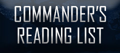 Commander's Reading List