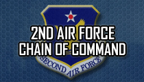 2nd Air Force Chain of Command